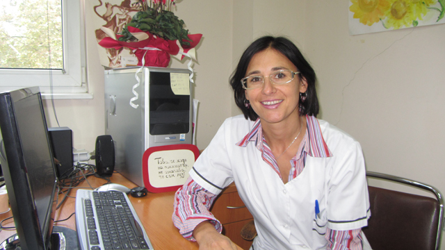 Senior Assistant Professor Petya Terziivanova, MD, PhD