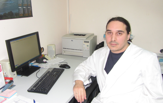 Chief assistant Georgi Lachezarov Hranov, MD